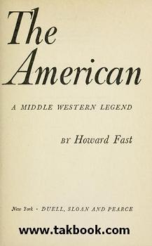 دانلود کتاب  رمان آمریکایی نوشته هاوارد فاوست  -  فریدون مجلسی